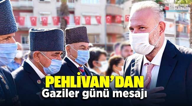 Başkan vekili Aydın Pehlivan'dan Gaziler Günü Mesajı