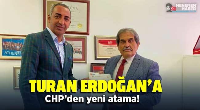 Koltuktan el çektirilen Turan Erdoğan'a CHP'den yeni atama!