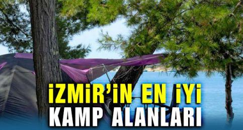 İzmir'in En İyi Kamp Alanları 2019