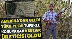 Amerika'dan Türkiye'ye Geldi, Menemen'de Kenevir Üretti