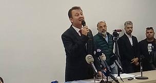 Menemen Belediye Başkanı Serdar Aksoy'un Nisan 2019'da Basın Açıklaması
