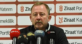 Aytemiz Alanyaspor-Beşiktaş - Sergen Yalçın basın toplantısı