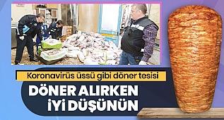 İzmir'de Tavuk Döner denetimi yapan