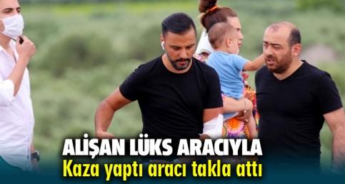 Alişan Ailesiyle birlikte İzmir'e gelirken kaza yaptı