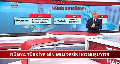 Dünya Türkiye'nin Müjdesini Konuşuyor