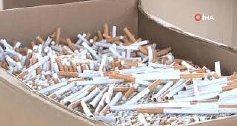 İzmir'de dev kaçak sigara operasyonu: 41 milyon dal sigara ele geçirildi