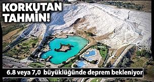 Prof. Dr. Halil Kumsar; Denizli'de Beklenen Büyük Deprem Pamukkale Travertenlerine Zarar Verecek