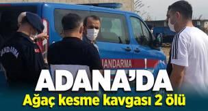 Adana Ceyhan'da ağaç kesme kavgası! 2 ölü, 4 yaralı