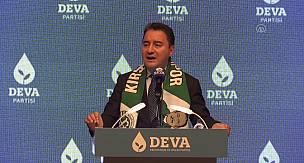 DEVA Partisi Genel Başkanı Ali Babacan, Kırşehir'de konuştu