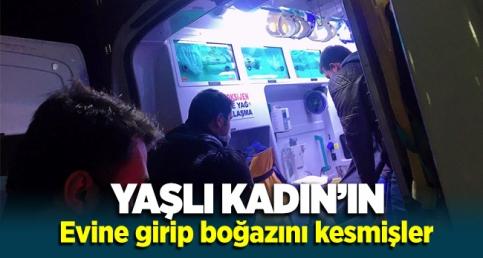 Erzurum Palandöken'de Yaşlı kadın Cinayeti