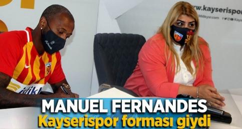 Manuel Fernandes Kayserispor'da