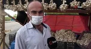 Pandemi dolayısıyla tüketimi artan Taşköprü sarımsağı, hırsızların hedefinde
