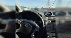 Trafikte drift ve makas atıp sosyal medyada paylaşan sürücüye yakayı ele verdi