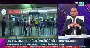 Tuncay Şanlı, Fenerbahçe-Trabzonspor maçını değerlendirdi