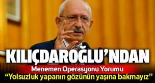 Kemal Kılıçdaroğlu'ndan Menemen Belediyesi hakkında ilk açıklama