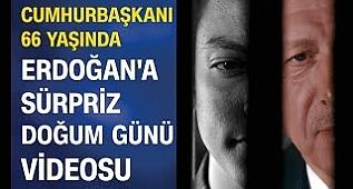 AK Parti'den Cumhurbaşkanı Erdoğan'a sürpriz doğum günü videosu