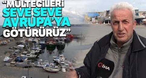 İstanbullu balıkçılar Suriyeli mültecileri taşımaya hazırız dedi