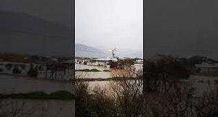 İzmir Menemen tarlalar su altında kaldı