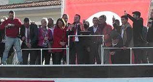 Menemen Belediye Başkan Adayı Serdar Aksoy konuşma yaptı