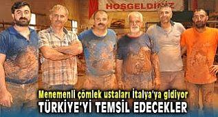 Menemen Çömlekçiler Derneği İtalya'da Türkiye'yi Temsil Edecekler.