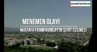 MENEMEN OLAYI, tarih belgeseli